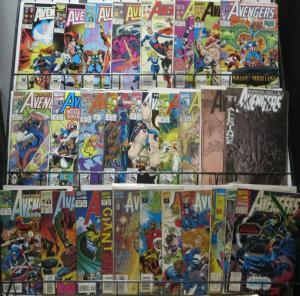 AVENGERS 1980s-1990sSAMPLER! Marvel, 29 issues! F/+ Roger Stern! John Buscema