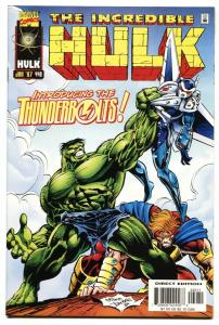 Incredible Hulk #449-1st appearance of Thunderbolts-NM-