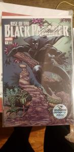Rise Of The Black Panther #1 w/ Stan Lee's DNA Solvent Ink Signature Stamp