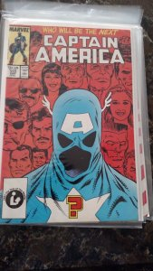 Captain America #333 (Marvel,1987) Condition NM