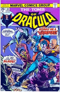 Tomb of Dracula(vol. 1) # 30  Blade The Vampire Hunter