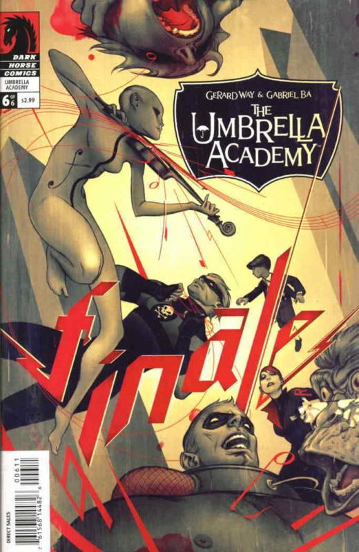 Umbrella Academy, The: Apocalypse Suite #6 VF; Dark Horse | save on shipping - d