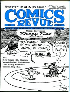 Comics Revue #85 1993-Gasoline Alley-Flash Gordon-Modesty Blaise-Krazy Kat-VF