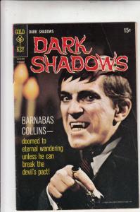 Dark Shadows #4 (Feb-70) FN+ Mid-Grade Barnabus Collins
