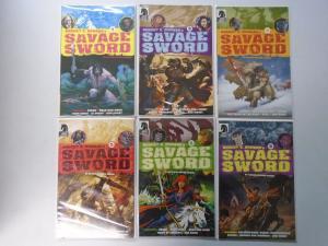 Savage Sword #1, 3-6, 8