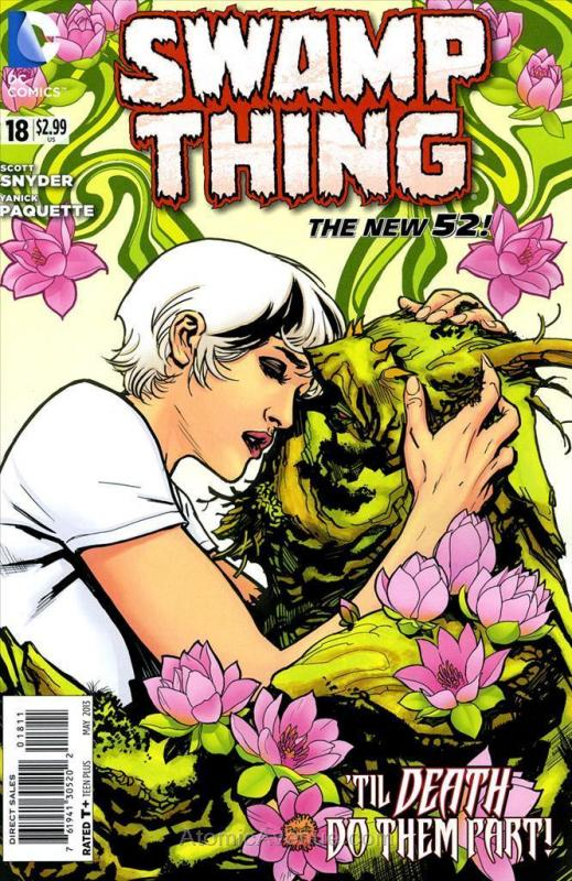 Swamp Thing (5th Series) #18 VF/NM; DC | save on shipping - details inside