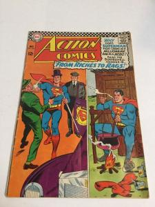 Action Comics 337 Vg Very Good 4.0 Silver Age