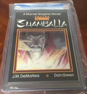 Marvel Graphic Novel 23 Into Shamballa Dr. Doctor Strange Cgc 9.8 Movie Plot