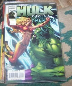 Hulk  ranging thunder #1  2010 marvel one shot 1st LYRA SHE-HULK II THOR