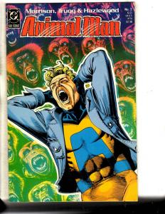 6 DC Comics Animal Man 2 10 22 25 17 + Christmas W/ Super-Heroes Special 2 J315