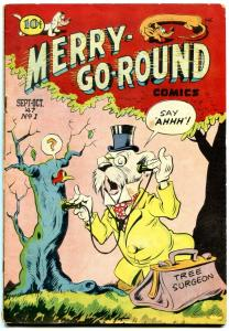 Merry-Go-Round #1 1947- Canadian edition- Golden Age Funny Animals