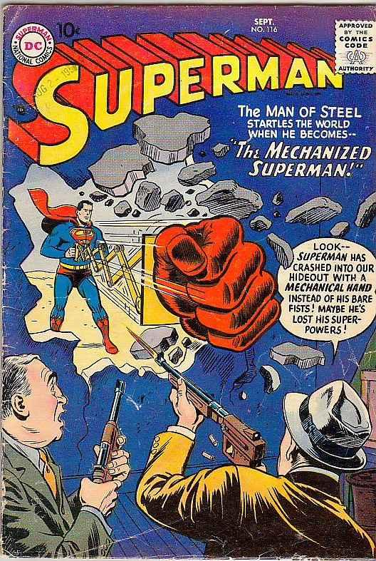 Superman #116 (Sep-57) VG/FN Mid-Grade Superman