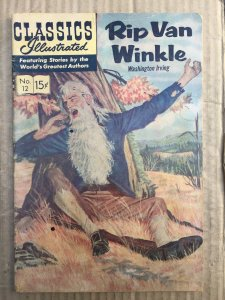 Classics Illustrated #12 (1943)