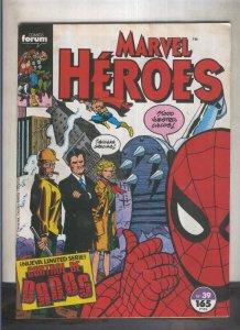 Marvel Heroes numero 39: Control de Daños (numerado 2 en trasera)