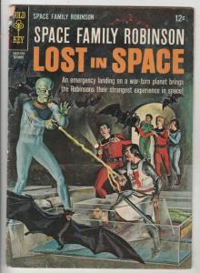 Space Family Robinson, Lost in Space #18 (Apr-67) VG+ Affordable-Grade Will R...