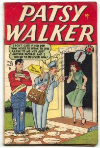 Patsy Walker #21 1949- Wertham rebuttal- Kurtzman VG+