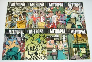 Ted McKeever's Metropol #1-12 VF/NM complete series - eddy current - epic set