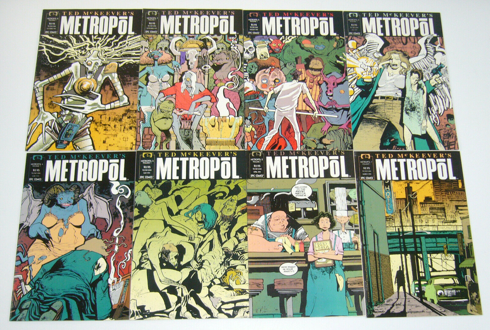 USA, 1991 Ted McKeever/'s Metropol # 7