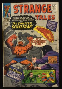 Strange Tales #132 FN- 5.5 Marvel Comics Nick Fury Doctor Strange Torch
