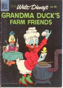 GRANDMA DUCKS FARM FRIENDS F.C.1073 VG   Jan.-Mar. 1960 COMICS BOOK