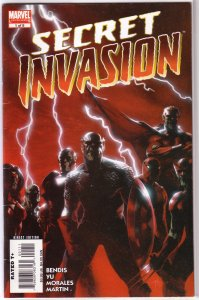 Secret Invasion   #1 of 8 VG