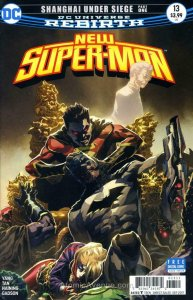 New Super-Man #13 FN; DC | save on shipping - details inside