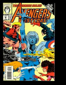 11 Marvel Comics Avengers WC 96 97 98 99 100 101 102 Black Knight 1 2 3 4 GK6