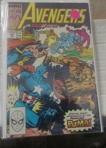 Avengers # 312 1989  Marvel acts of vengeance vision scarlet witch falcon hawkey
