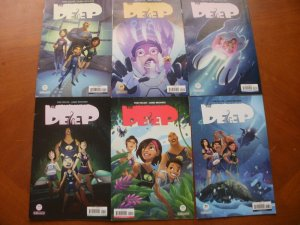 6 Kaboom THE DEEP Comic #1 2 3 4 5 6 (2017) (Taylor Brouwer) Complete Set