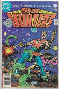 Star Hunters #1 FR (1977 DC) Michelinie/Newton, Buckler cover, sci-fi