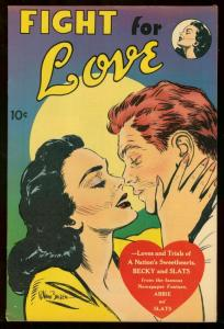 FIGHT FOR LOVE 1952 UNITED FEATURES ONE SHOT ROMANCE VG-