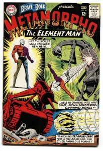 BRAVE AND THE BOLD #58-2nd METAMORPHO 1965