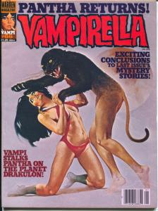 Vampirella #66 1978-Warren-spicy cover-Good Girl Art-Pantha-VF+