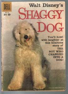 Shaggy Dog-Four Color Comics #985-1959-Disney movie edition-Annette-G