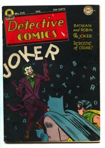 DETECTIVE COMICS #114-Joker cover-DC comic book 1946