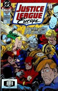 Justice League Europe Annual #1 (1990)