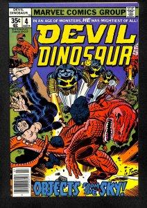 Devil Dinosaur #4 NM+ 9.6