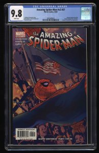 Amazing Spider-Man (1999) #57 CGC NM/M 9.8 White Pages