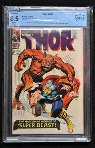 Thor #135 (Marvel, 1966) CBCS 8.5