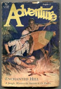 Adventure Pulp August 1 1929-Enchanted Hill G