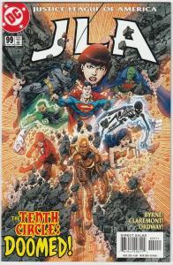 5 JLA DC Comic Books #99 100 101 102 103 Superman Batman Wonder Woman Flash LH22