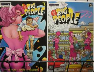 BIG PEOPLE (1997 EVENT) 1,1A  Set Of Both Cover Version