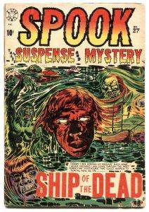Spook Suspense & Mystery #27 1954-LB COLE- Ship of the Dead