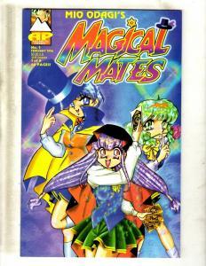 8 Comic Books Magical Mates # 1 2 4 Magnus # 15 16 20 Vintage # 1 Nexus # 1 JF6