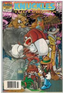 KNUCKLES (1997 ARCHIE) 6 F-VF Oct. 1997