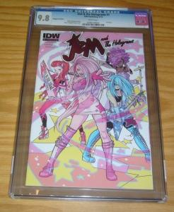 Jem and the Holograms #1 CGC 9.8 plugged in edition - highest graded! IDW 2015