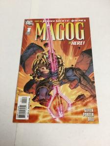 Magog 1 Variant Nm Near Mint DC Comics '09