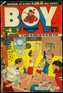 BOY COMICS #45-NORMAN MAUER ART-1949 VG