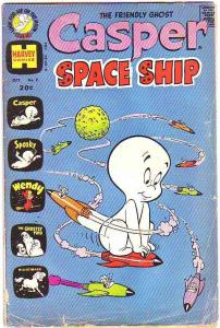 Casper Space Ship #2 (Oct-72) GD Affordable-Grade Casper, Spooky