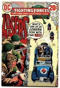 OUR FIGHTING FORCES #140 1972-DC-THE LOSERS-CAPT STORM-JOE KUBERT